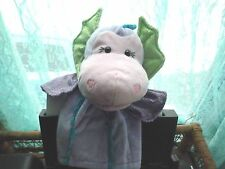 Gund Kids #20172 hand puppet w/sound Sea Serpent plush 10.5""