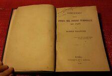 596 COMPENDIO DELLA STORIA TEMPORALE DEI PAPI - DANIELE PAGANUZZI 1879 V.FOTO