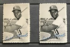 1969 Topps Deckle Edge #28 of 33  CURT FLOOD St. Louis Cardinals ( Lot of 2 )