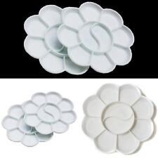 White Color Palette Gouache Plastic Palette Watercolor Tray Paining Art Tool