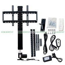 "70cm 28"" LCD TV Mount Bracket Flat Screen Lift Remote Controller for 20""~57"" TV"