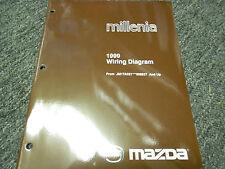 1999 Mazda Millenia Electrical Wiring JM1TA221 Diagram EWD Manual OEM 99