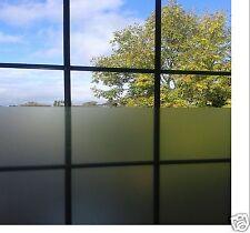 A4 SHT Etch Film Argent Verre Fenêtre Glaçage teinte air libre collant plastique arrière