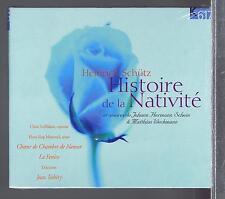 SCHUTZ SCHEIN WECKMAN CD NEW LA NATIVITE JEAN TUBERY / CLAIRE LEFILLIATRE