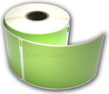 10 RJS Green Shipping Labels, Compatible w/DYMO 30256