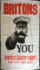 Kitchener BRITONS 5x3 Flag 1914-1918 WWI History Army School Remembrance Day WW1