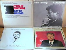 LOT (5) LPs JFK Years of LIghtning/SELF PORTRAIT/Presidential Years/MEMORIAL