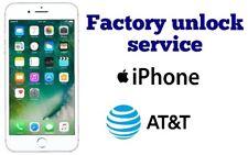 SEMI PREMIUM FACTORY UNLOCK SERVICE CODE FOR AT&T ATT iPhone X 8 7 6s 6 5s 5 4s