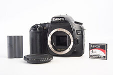 Canon EOS 30D 8.2MP Digital SLR Camera Body with Battery Cap & 4GB CF Card V12