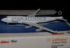 "GEMINI JETS 1/400 LUFTHANSA B747-400 D-ABTH "" STAR ALLIANCE """