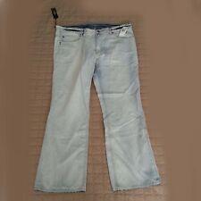 Buffalo Men Jeans Size 40W 32L SIX BASIC Slim Straight light blue wash Cotton