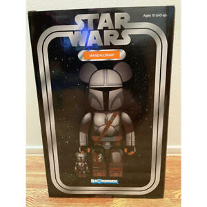 Medicom Toy BE@RBRICK  the MANDALORIAN Star wars 400%  100% set figure bearbrick