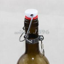 12 X Ez Cap Flip Top Stopper Root Beer Bottles Replacement Swing Tops Homebrew