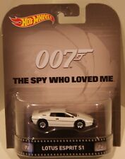 2015 Hot Wheels RETRO James Bond 007 The Spy Who Loved Me Lotus Esprit S1 HOBBY