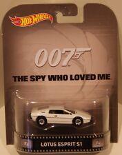 2015 Hot Wheels RETRO James Bond 007 The Spy Who Loved Me Lotus Esprit S1 HOBBY