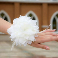 Silky Fabric Flower Hair Pin/Corsage/Tie/Clip/Brooch