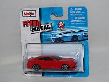 Maisto Fresh Metal Diecast 2015 Ford Mustang GT Red