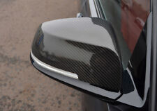 Carbon Fibre Wing Mirror Trim Set Covers To Fit BMW 3 Series (2012+) F30 F31 F34
