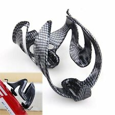 Glass Carbon Fiber Road Bike Cycling MTB Water Bottle Holder Holding Rack Cage