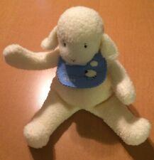 "Bunnies By The Bay Lamb With Bib Plush 12"""