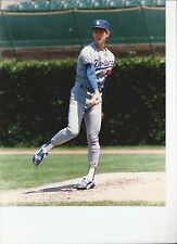 8 X 10 Glossy Photo Orel Hershiser Los Angeles Dodgers {200}