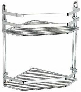 Euroshowers Satina Double Corner Wire Basket - 57590