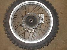 suzuki rm125 complete rear back rim wheel assembly hub 1982 1983 1984 rm250 85