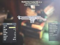 Bloodied  Combat Rifle explosive Fallout 76 Ps4