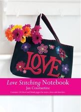 Love Stitching Notebook - Love by Jan Constantine (2014, Book, Other)