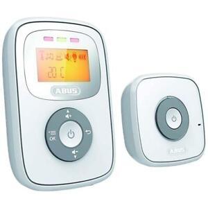 ABUS Digitales Audio Babyphone TOM JC8230 mit Temperatur Sensor Reichweite 300 m