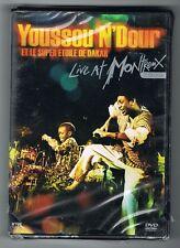 YOUSSOU N'DOUR & LE SUPER ÉTOILE DE DAKAR - LIVE AT MONTREUX 1989 - DVD NEUF NEW