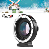 Viltrox Auto Focus 0.71X Aperture Lens Adapter Ring for Canon EF to M43 Camera