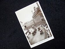 LOVELY OLD REAL PHOTO-PC: LONDON~THE QUADRANT~REGENT STREET~ANIMATED~OLD CARS