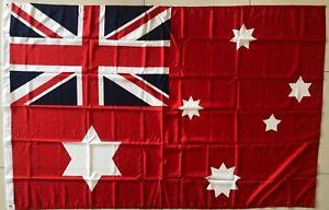 Commonwealth of Australia Federal 1901 Flag   XL 180x120 cm  Red Australian Flag