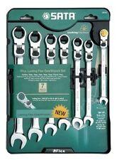 SATA XL Locking flex head  gearwrench spanners Set 7pc Open End 09043