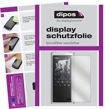 6x Sony nw-zx300 (mp3-Player) protectoras TRANSPARENTES para protector de pantalla Lámina Display