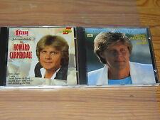 HOWARD CARPENDALE - SCHMUSESTUNDE & DEINE SPUREN / 2 VERSCHIEDENE ALBUM-CD'S