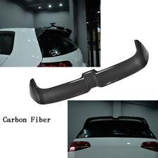 For Volkswagen VW GOLF VII 7 GTI 14-17 Rear Trunk Roof Spoiler Wing Refit Carbon