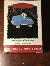 Hallmark Ornaments Kiddie Car Classics Series Lot of 4