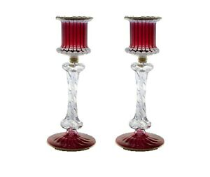 set of 2 antique design decorative candle lantern glass candle holder