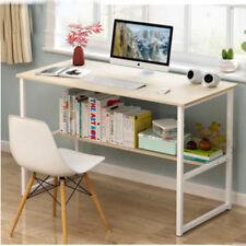 Maple Computer Desk Desktop Laptop Writing PC Table Workstation Home Office Desk