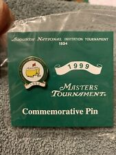 1999 Masters Golf Tournament Commemorative Pin Olazabal Augusta National New