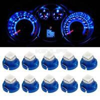 10x T4.7/T5 Neo Wedge Blue 5050 SMD LED Dash HVAC Climate Lights 12mm For Dodge