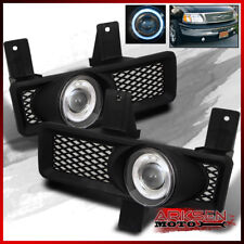 Fits 97-98 F150/F250/Expedition/Navigator Halo Projector Fog Lights+Switch+Bulb