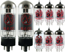 Tube Set - for Fender Fender 63 Vibroverb Reissue JJ Electronics APEX Matched