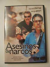 Asesinos de Narcos - Agustin Bernal, Sergio Goyrui ( DVD) (015-2)