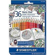 2 X Staedtler Noris Club Coloured Pencils Set of 36 JB Edition 144D36JB