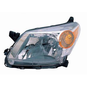 SC2502103 New Driver Side Headlight Lens Housing CAPA