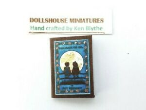 Dolls house 1:12 scale Books 1884 ALMANACK , Hand Crafted by Ken Blythe