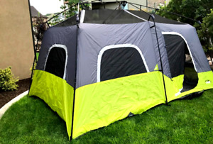 6 Person Camping Tent Waterproof Green